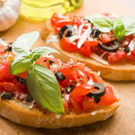 Bruschetta à composer